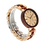 Thumbnail: Men Wooden Watches Luxury Maple Wood Red Sandalwood Quartz Wristwatch