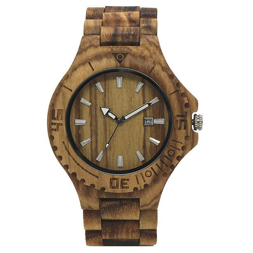 Wholesale 10pcs of Men Antique Wood Watch Luxury Casual Quartz Wristwatch