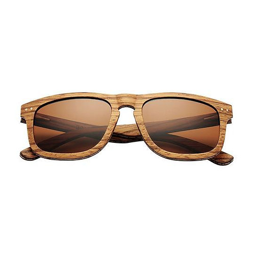 Polarized Handmade Wood  Sun Glasses retro de sol masculino Wood Eyewear