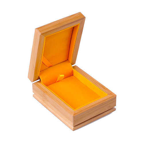 Natural Wood Box for Ring Bracelet Wooden Jewellery Box 50pcs