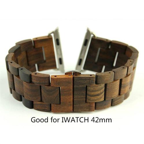 New Luxury Watches Genuine Sandal Wood Watch Strap For Men 22cm Bracelet Clasp
