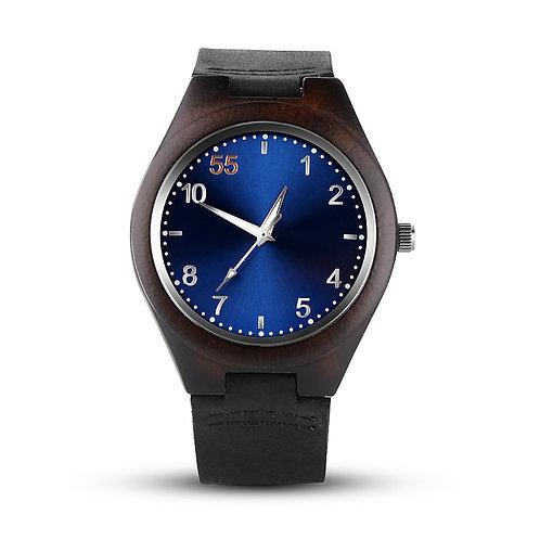 New Men Black Sandalwood Wristwatch Ebony Watch from EcVendor