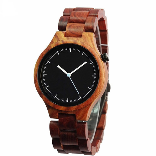 New Wood Watch with box Unisex Relogio Masculino DeLux Gift