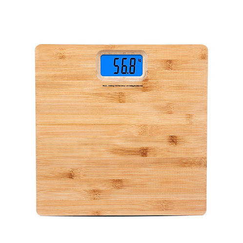 New Bamboo Natural weighing Tool Weight Measure Machine EcVendor