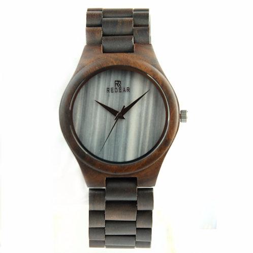 Wooden Marble Watch Men Sandalwood Quartz Wristwatches