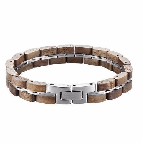 New EcVendor Wood Bracelet Natural Woodwear for Men
