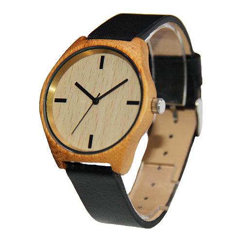 Bamboo small face lady wrist watch EcVendor Wood Bamboo watch