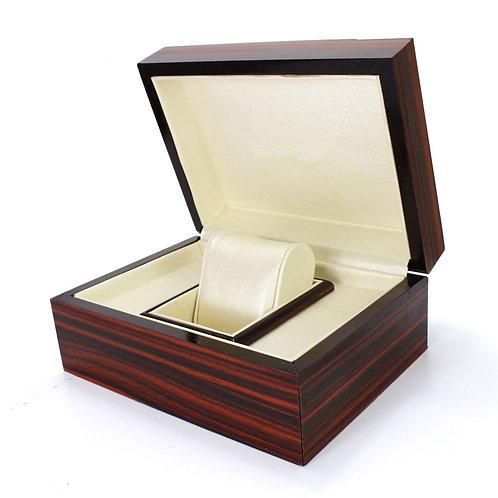 Red Wood Style Box Holder reloj relogio woodgrained box Jewelry Display