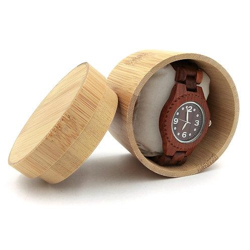Bamboo Watch Box Jewelry Display Storage Case