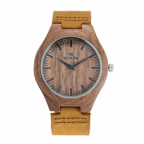 Men and Women Walnut Wooden Wrist Watch