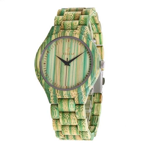 Men and women Fashion Casual Wood Quartz Full Natural bamboo watch