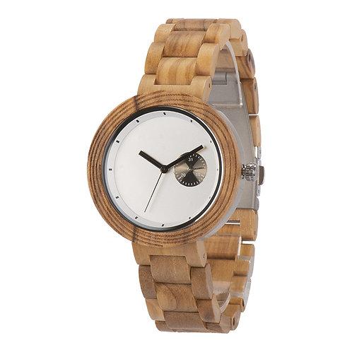 New Quartz EcVendor Olivewood Wristwatch Wood Men Watch Women Wear
