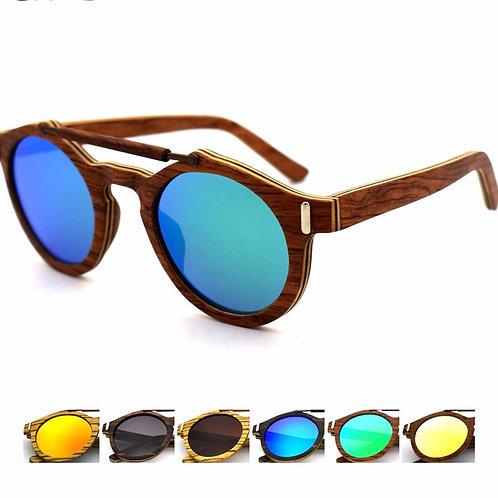 NEW Unisex Stylish Natural Bamboo uv400 TAC Eyewear Wood Luxury Natural Classic