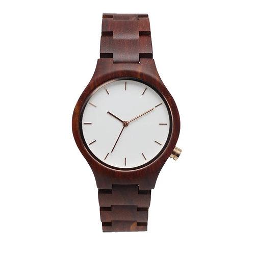 Red Sandalwood Watch wristwatch Original wooden watch from EcVendor