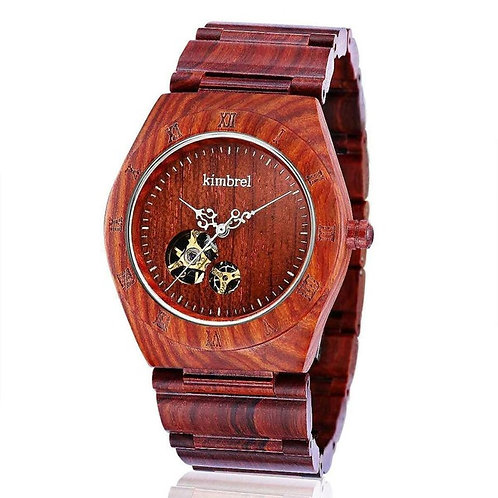 Seagull Automatic Mechanical Men Sandalwood Auto Mechanical Watch