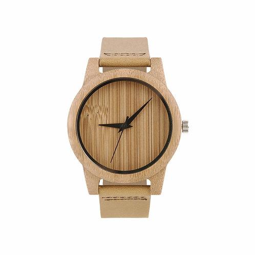 New Men Unisex Bamboo Watch100% Handicrafted Eco Wear