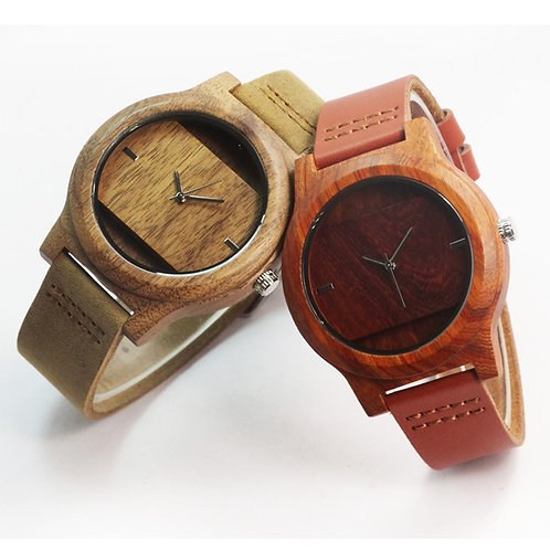 10pcs of Wood Watch Men Relogio Masculino DeLux Gift