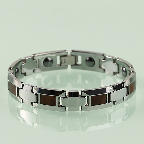 NEW KOA JEWELLERY WOOD BRACELET TUNGSTEN AND WOOD BRACELET