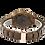 Thumbnail: Men Wooden Watches Luxury Black SandalWood Blue Dial Quartz Wristwatch
