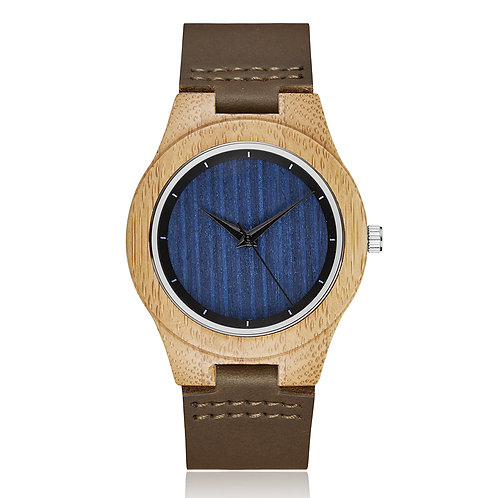 Solid Wood Watch for Men Wristwatches Minimalist Design from EcVendor