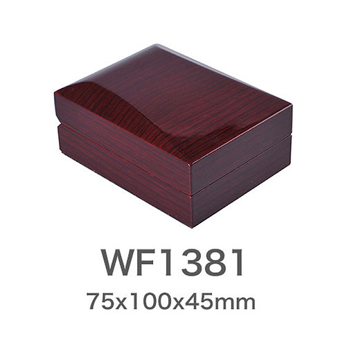 Red Wood Box for Ring Bracelet Wooden Jewellery Box 50pcs