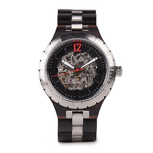 New Automatic Wood Wristwatch Eco Watch Mechanical Self Winding Wear