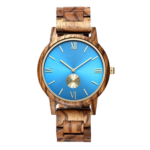 New Minimal Style Wood Wristwatch from EcVendor Natural Wood