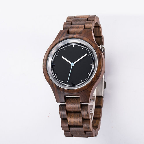New Men sandalwood Classic Watch 100% Handicrafted Natural Wood