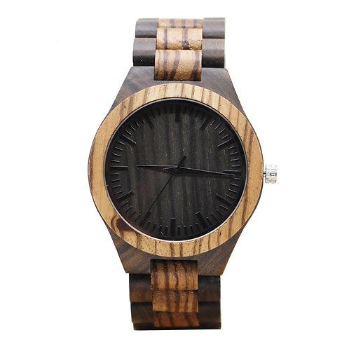 10 pcs New Zebra Wooden Watch Casual Wood Quartz Watch EcVendor