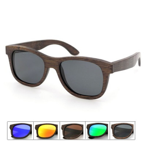 Unisex Natural Bamboo uv400 Eyewear Wood Luxury Natural Classic Sunglass