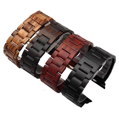 Wood Apple Watch Band Wooden Wristwatch Bracelet