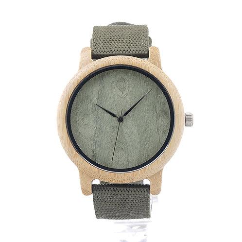copy of Deer Head Bamboo Wooden Watch Casual Wood Quartz Nylon band EcVendor