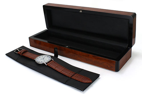 Men Wood watch holder black Wood Box for Watch/Watch Boxes