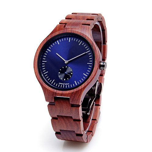 Lady Small face Wooden Watch from EcVendor