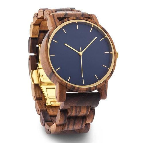 NEW ZebraWood Men Wristwatch Men Wooden Watch from EcVendor