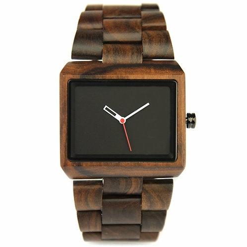 Wholesale 10pcs of New Plain Black sandalwood Unisex Natural Watch