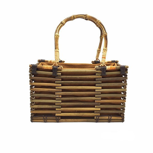 New Natural Bamboo made Lady Bag Bamboo handbag from EcVendor