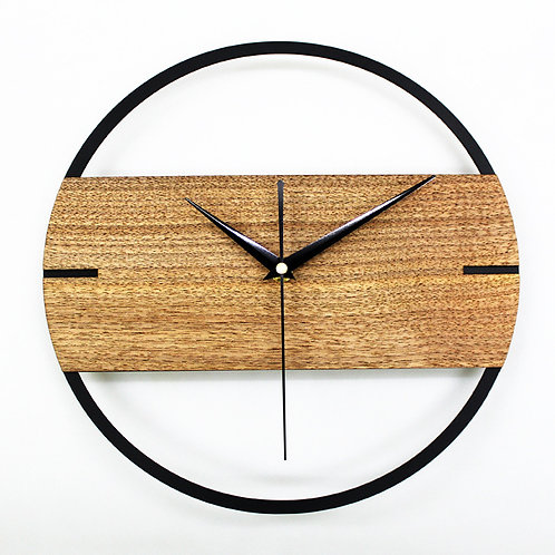 Natural Wood Wall clock from EcVendor
