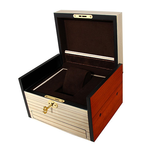 Factory Directly Customized Wood Boxes with Key Wood jewellery Box