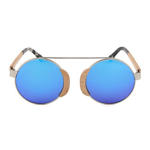 NEW Unisex Natural Bamboo uv400 TAC Eyewear Wood Luxury Street Sunglass