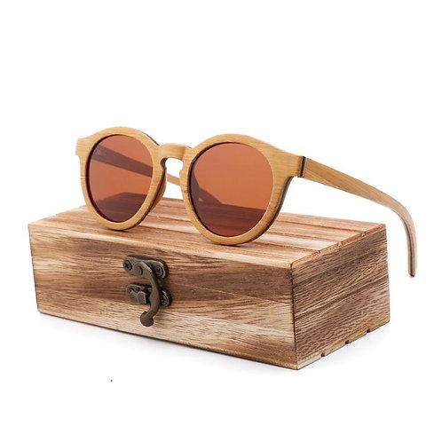 Unisex Polarized Sunglasses Wooden driving glasses Vintage Retro wood gift
