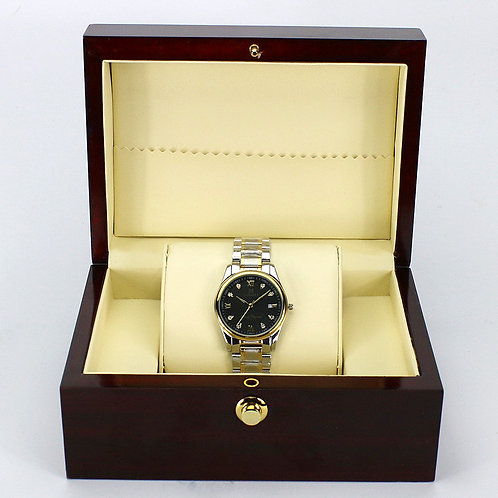 Customized High Grade red Wine Wood Watch box Luxury Wooden box from EcVend