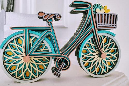 Multi Layered Standing Bike