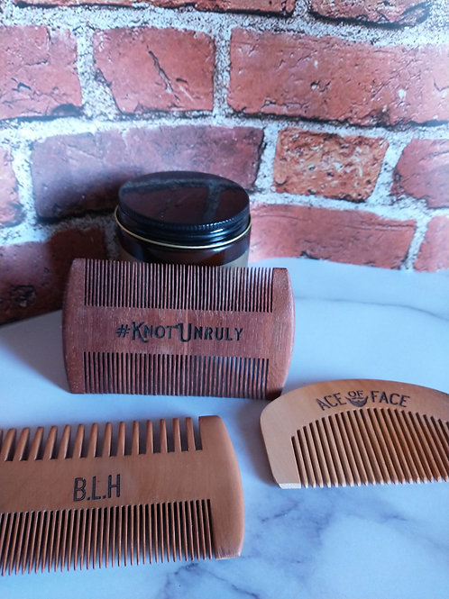 Beard Combs-Customizable