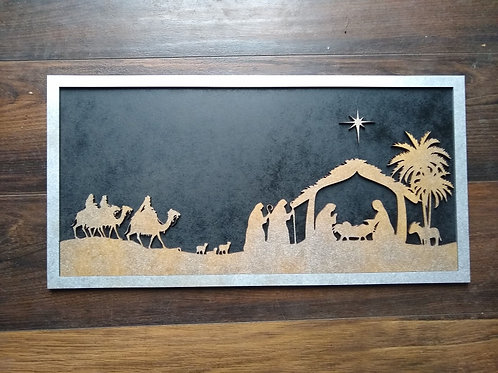 Nativity Finished