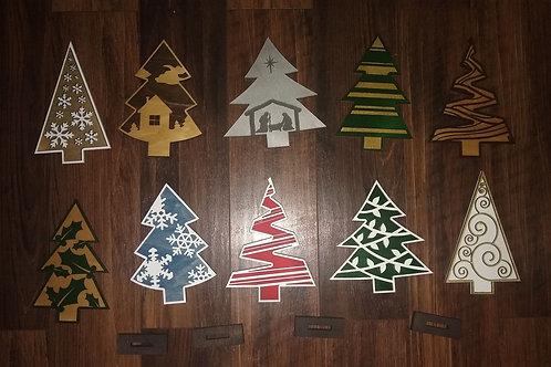 Christmas Ornamets + Tree Kit