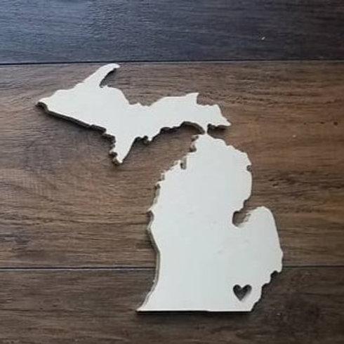 Michigan cutout