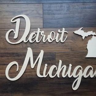 Detroit, cutouts