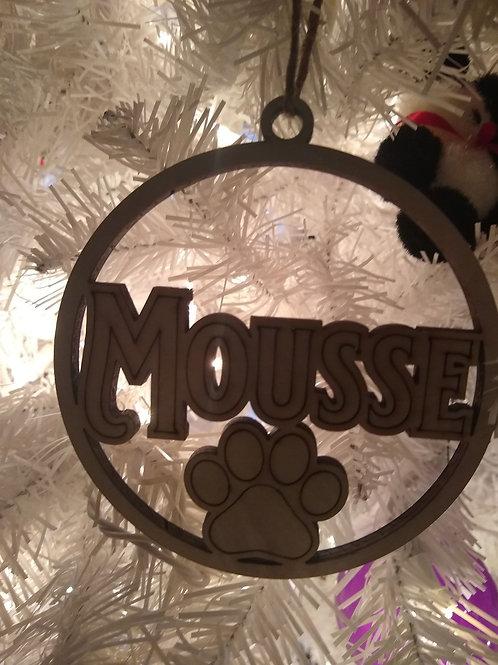Customized Pet Ornament