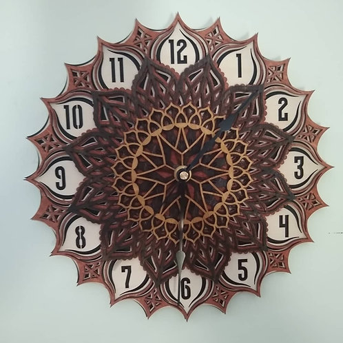 5 Layer clock-Finished
